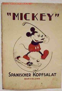 Today is Mickey's Birthday --> MICKEY JUGANDO A GOLF PUBLICIDAD CARTON DISNEY