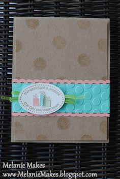 Melanie Makes: Dotted Birthday Present