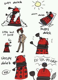 The Big Bang Theory meets Dr Who
