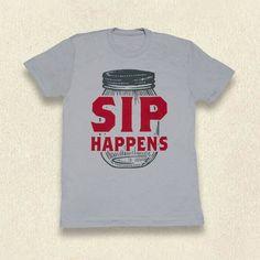 Ole Smoky Sip Happens Tee #mens #shop #Gatlinburg #Tennessee #tshirt #gift #idea