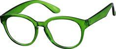 Zenni Round Prescription Eyeglasses Green Bendable Plastic - Bailey It. Green Glasses Frames, Fashion Eye Glasses, Round Eyeglasses, New Glasses, Reading Glasses, Cool Eyes, Eyewear, Mens Sunglasses, Plastic