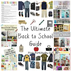 The Ultimate Back to School Guide by coconutheadsurvivalguide.com