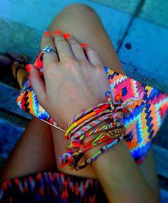 I love bright colors......