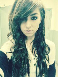 Christina Grimmie hair