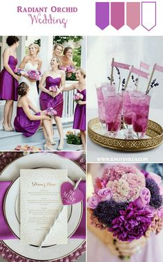 Radiant Orchid Wedding Inspiration » KnotsVilla