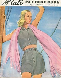 1940s Vintage McCall Pattern Book February Summer 1946 Pattern Catalog 80 Pages #McCallPatternBook