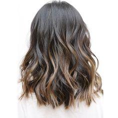 Soft undercut... Color by: @johnnyramirez1  #livedinhair #undercut #haircut #movement #beachywaves #ramireztransalon #longbob #lob