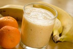 Tangerine smoothie – About Healthy Desserts Healthy Fruit Desserts, Healthy Smoothies, Smoothie Recipes, Start The Day, Weight Loss Smoothies, Great Recipes, Panna Cotta, Vegetarian Recipes, Good Food