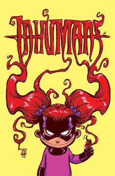 Inhumans: Attilan Rising #1 Baby Variant - Skottie Young