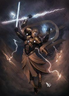 Indra: King of Gods by molee on DeviantArt