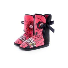 Iron Fist Gold Digger Fugg Boot | Gothic Clothing | Emo clothing |... ($45) ❤ liked on Polyvore