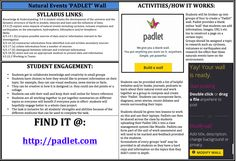 Natural Events PADLET Wall: Students can collaborate and build a online wall that explains and demonstrates the differing effects of volcanoes, earthquakes and cyclones on the environment. Students can be creative and display the information using many different mediums. Find it at: http://padlet.com
