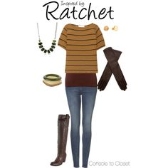 Ratchet (Ratchet & Clank) by console-to-closet on Polyvore featuring Kain, Topshop, Frye, Tova Jewelry, Gorjana, AGNELLE, gaming fashion, video game, gamer and nerd fashion