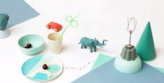 Beautiful bamboo table ware! #kids #party #ENGEL #ShowUp