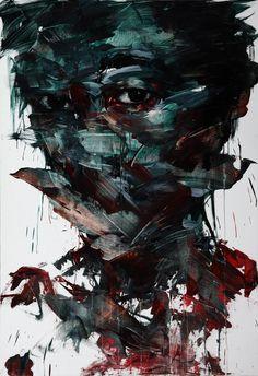 [40] Untitled Oil On Canvas 162 X 112 Cm 2013 by ~ShinKwangHo on deviantART