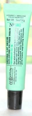 Bath and Body Works Mint Lip gloss.