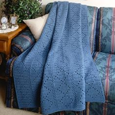 Diamond Afghan Knitting Pattern : 1000+ images about CROCHET - ONE COLOR AFGHAN on Pinterest Afghans, Afghan ...