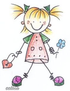 A smile, a tight hug, a song, being with whom … – Kids Clothing Ideas Doodle Drawings, Easy Drawings, Doodle Art, Cartoon Faces, Cartoon Drawings, Drawing For Kids, Art For Kids, Stick Figure Drawing, Stick Art