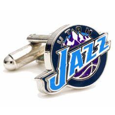 NBA Utah Jazz Cufflinks, Price:$24.00