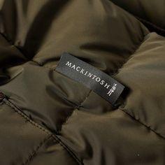 Mackintosh Corduroy Collar Down Jacket (Khaki)