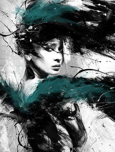 ANGEL TEARS by Martin Grohs, via Behance