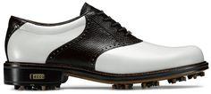 Ecco World Class GTX Golf Shoes White/Coffee