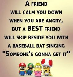Minions Quotes Of The Week -You can find Real friends and more on our website.Minions Quotes Of The Week - Funny Minion Pictures, Funny Minion Memes, Minions Quotes, Minion Humor, Funny Images, Image Minions, Minions Images, Quote Of The Week, Cute Quotes