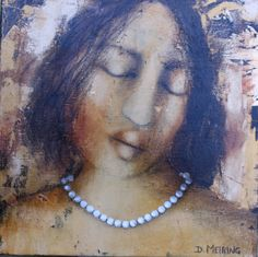 Figuratives : Figurative Figurative, Pearl Necklace, Paintings, Pearls, Chain, Detail, Jewelry, String Of Pearls, Jewels