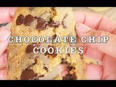 Amerikanska Chocolate chip cookies Chocolate Chips, Chocolate Chip Cookies, Frosting, Sweet Tooth, Desserts, Food, Tailgate Desserts, Deserts, Chocolate Sprinkles