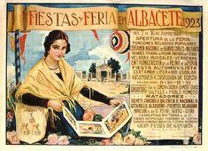 Cartel Feria Albacete 1923