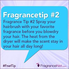 Perfume Tip   Eau Talk - The Official FragranceNet.com Blog