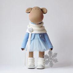 """❄️❄️❄️ #dollswithsoul #fiori_ua #happynewyear2016 #snow #winter #декордлядома #decor #homedecoration"""