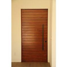 Multus- Multi Horizontal Plank Wood Door Eto Doors, Double Doors Exterior, Front Door Design, Modern Door, Single Doors, Wood Planks, Wood Pieces, House In The Woods, Home Improvement