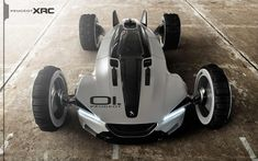 Futuristic Car Peugeot XRC Concept by Tiago Aiello Future Car Saurabh Pawar Peugeot, Futuristic Cars, Futuristic Design, Automobile, Buggy, Jaguar E Type, Top Cars, Rally Car, Future Car