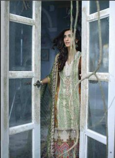 Sonum Kapoor Embroidered Lawn