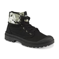 0742744d5cd5 Joe Boxer Women s Marlon Black Floral-Print High-Top Sneaker High Top  Sneakers