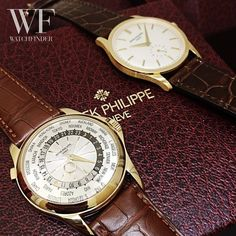 Our first #PatekPhilippe head-to-head  Will you go for the Complicated 5130J or the Calatrava 5196J?