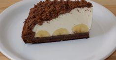 Tort Musuroi de Cartita, prajitura musuroi de cartita, tort cu crema de vanilie si banane