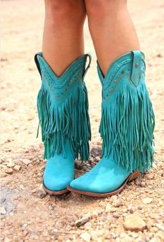 ThE RAmBLER boOT-Turquoise