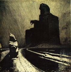 The Black Idol    1903    Frantisek Kupka