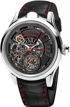 #Montblanc TimeWriter II Chronographe Bi-Fréquence 1.000