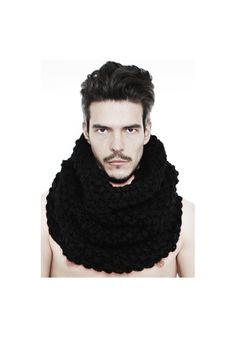 "DAVID ROAD "" HAND KNITTED WOOL SNOOD "" 100% WOOL : 280 € -30% >> 196 €"