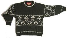 Siirry tuotteeseen - tummanvihreä vintage villapaita