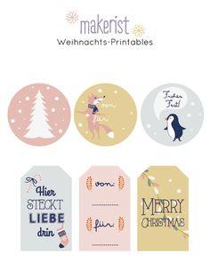 6 gratis Geschenkanhänger PRINTABLES by Ann.Meer