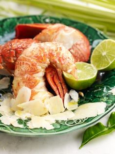 Beautiful New Zealand crayfish, served with a dash of fresh lime - it doesn't get much better than that!