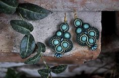Cukorpalantak / Keira - smaragdové náušnice