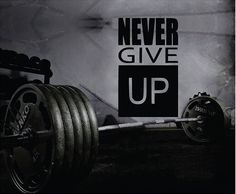 Never Give Up wall decal. *****Store Policies****** **Shipping and Payments** -Domestic Shipping Items are shipped via USPS First Class Mail. Delivery usually takes 2-5 days once the item has been shi