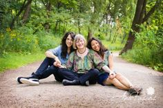 Family Portraits with Adult Children in High Park …