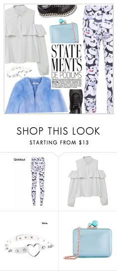 """""""STATEMENTS!"""" by teoecar ❤ liked on Polyvore featuring MANGO, Sophia Webster, STELLA McCARTNEY, THP, ootd and turntpanda"""