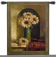 Have you ever thought about using one of these Wall Tapestry Hangings in your kitchen?  Fine Art Tapestries